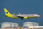 Jin Air, Boeing 737-8SH(WL), HL8012 (25351030705).jpg