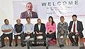 Jitendra Singh addressing a press conference, at Aizawl, in Mizoram.jpg
