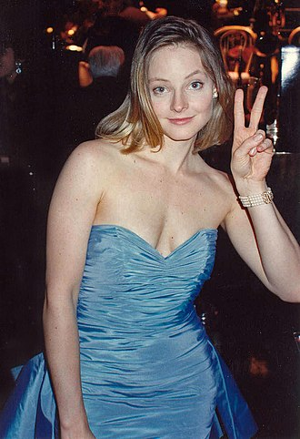 Jodie Foster - Foster at the Governor's Ball after winning an Academy Award for The Accused (1988). Her performance as a rape survivor marked her breakthrough into adult roles.