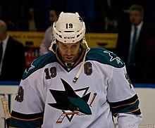 220px-Joe_Thornton_2011_1 Joe Thornton Boston Bruins Joe Thornton San Jose Sharks Toronto Maple Leafs