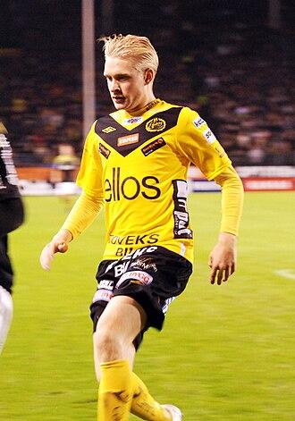 Johan Larsson (footballer) - Image: Johan Larsson