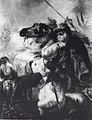 Johan t'Serclaes, graaf van Tilly, dodelijk gewond bij de overtocht van de Lech (Th Schaepkens, ca 1851).jpg