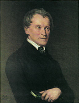 Johann Friedrich Böhmer by Amelie de Barrelier 1845