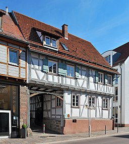 Johannes Rebmann Haus Gerlingen