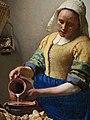 Johannes Vermeer - Het melkmeisje - Google Art Project (fragment).jpg