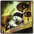 John Bonham Ludwig drum kit, Hard Rock Cafe London.jpeg