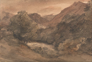 Borrowdale- Evening after a Fine Day, 1 October 1806