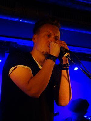 John Garrison (musician) - Image: John Garrison Auster Club Berlin 22 April 2015