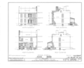 John Gridley House, 205 East Seneca Turnpike, Syracuse, Onondaga County, NY HABS NY,34-SYRA,4- (sheet 2 of 12).png