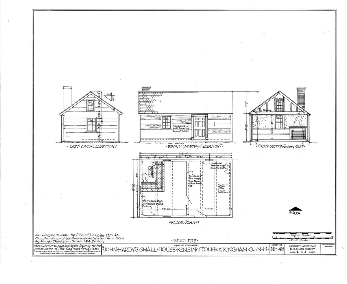 File John Hardy Small House Kensington Rockingham County Nh