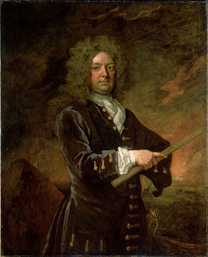 John Leake - Sir John Leake by Godfrey Kneller