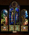 John la farge, vetrata degli angeli custodi con fede e speranza, 1890.jpg
