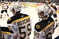 Johnny Boychuk + Vladimir Sobotka (March 9th 2010) (4539950196).jpg