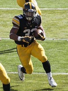Jordan Canzeri American football running back