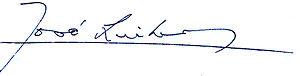 José Linhares - Image: José Linhares assinatura Presidencial