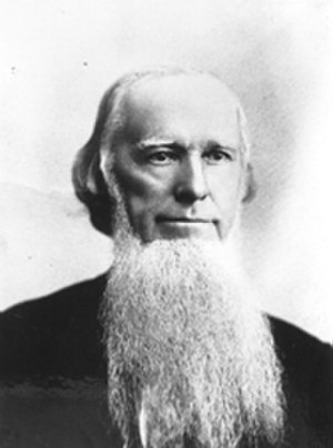 Politics of Georgia (U.S. state) - Portrait of Joseph E. Brown, governor of Georgia during the Civil War.
