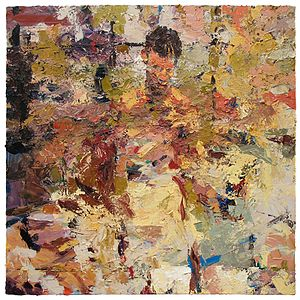 Joshua Meyer - Seek, (oil on canvas, 2006) by Joshua Meyer in the collection of Hebrew College in Boston