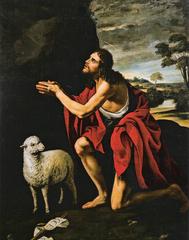 John the Baptist in Prayer