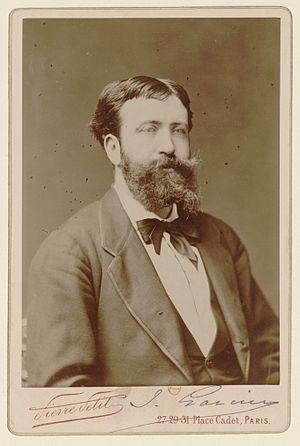 Jules Garcin - Jules Garcin in 1891 by Pierre Petit
