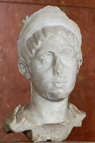 Julia Avita Mamaea - Bust of Julia Mamaea, Louvre