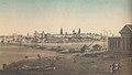 Julian Cegliński chromolitografia Warszawa od strony Pragi 1859.jpg