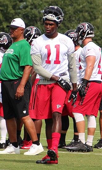 Julio Jones - Jones with the Atlanta Falcons in August 2015
