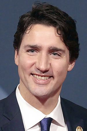 Canadian federal election, 2015 - Image: Justin Trudeau APEC 2015 (cropped)