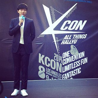 KCON (music festival) - Lee Seung-gi 2014 red carpet.