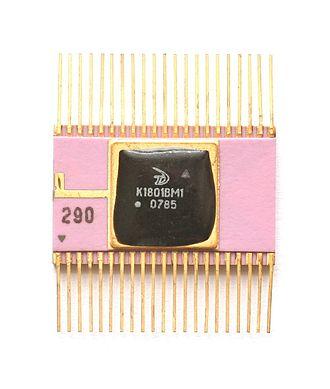 1801 series CPU - K1801VM1