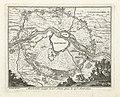 Kaartje van de belegering van Maastricht, 1632 Mastricht asiegé le 10e. Juin. pris le 22e. Aout 1632 (titel op object), BI-B-FM-060-6.jpg