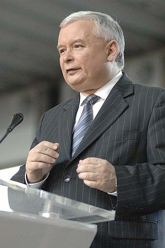 Ministry of Regional Development (Poland) - Image: Kaczynski Jaroslaw 1 070