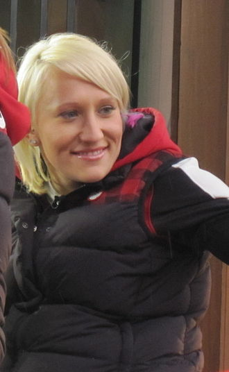 Kaillie Humphries - Kaillie Humphries in Vancouver 2010