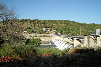 Thyamis - The hydroelectric dam of river Thyamis, in Thesprotia