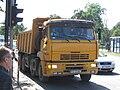KamAZ-6540 truck on Piłsudskiego avenue in front of the Hotel Orbis Cracovia.jpg