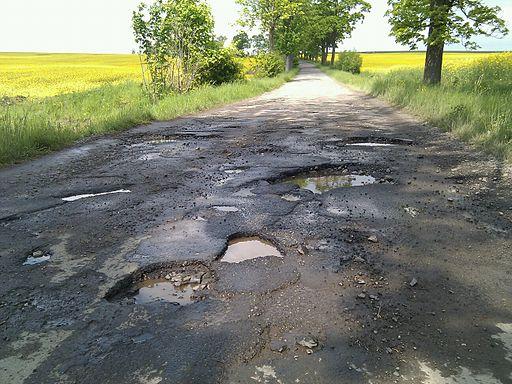 Kamieniec Szalejow Gorny road
