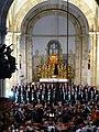 Kammerchor Klagenfurt in Sankt Paul 01 2009.JPG