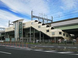 Kamonomiya Station (Saitama) - Kamonomiya Station West exit
