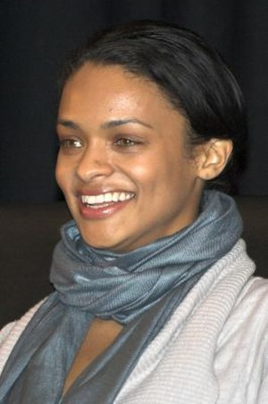 Sue Snell - Kandyse McClure, who portrayed Sue, at Battlestar Starfury in London, December 2008