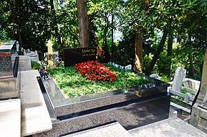Kayahan - The grave of Kayahan Açar at Kanlıca Cemetery in Kanlıca, Istanbul.