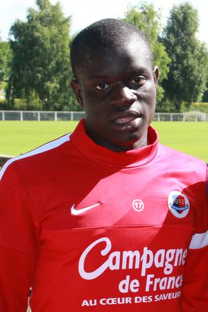 N'Golo Kanté - Kanté with Caen in 2013