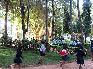 Karanji Lake - Children playing in the park