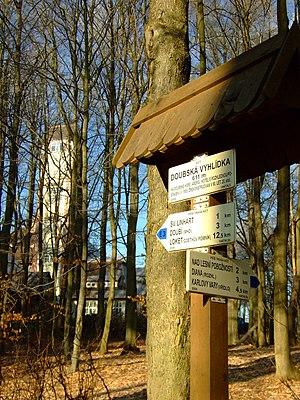 E3 European long distance path - Image: Karlovy Vary, na Doubské vyhlídce