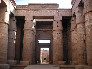 Temple of Khonsu - Image: Karnak Khonsou 080508