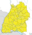 Karte Gemeinden Baden-Württemberg September 2015 Artikel alswiki.png