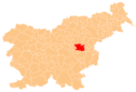 The location of the Municipality of Lasko