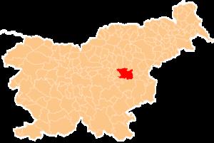 Municipality of Laško - Image: Karte Lasko si
