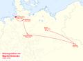 Karte der Wirkungsstätten von Martin Kröncke.png