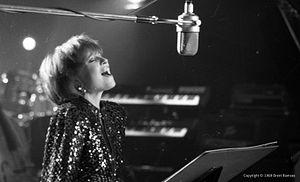 Kvitka Cisyk - Cisyk performing in 1989