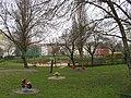 Kaskelkiez Hauffstrasse Sportplatz.JPG