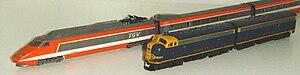 Kato Precision Railroad Models - Kato N scale TGV and EMD F7